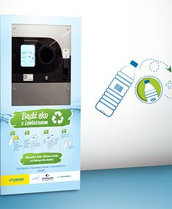 Drugie życie plastiku: Lewiatan testuje urządzenia do zbiórki butelek PET