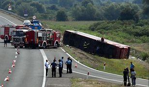 Katastrofa autokaru w Chorwacji. Jest wiele ofiar