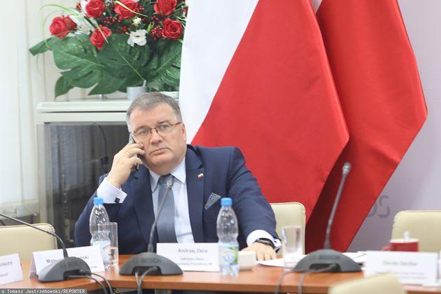 Andrzej Dera, minister w Kancelarii Andrzeja Dudy