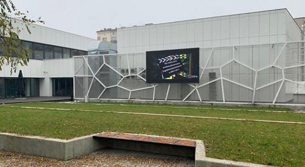 Dzięki głosom mieszkańców Sosnowca Zagłębiowska Medioteka wzbogaciła się o ekran LED.