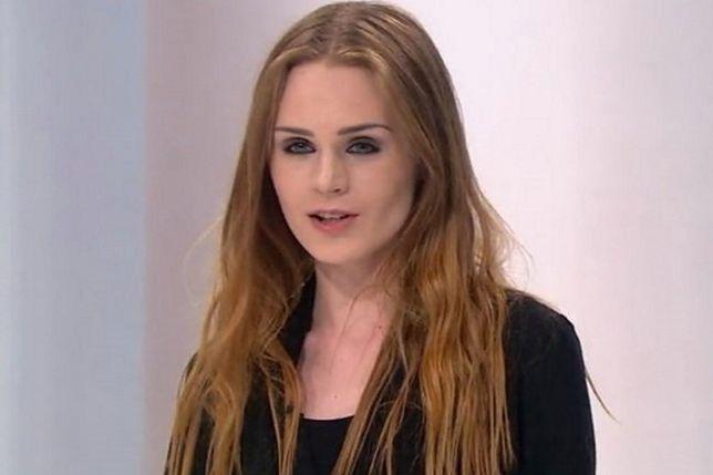 """Kamila Warzecha w 2016 r. na castingu do """"Top Model""""."""