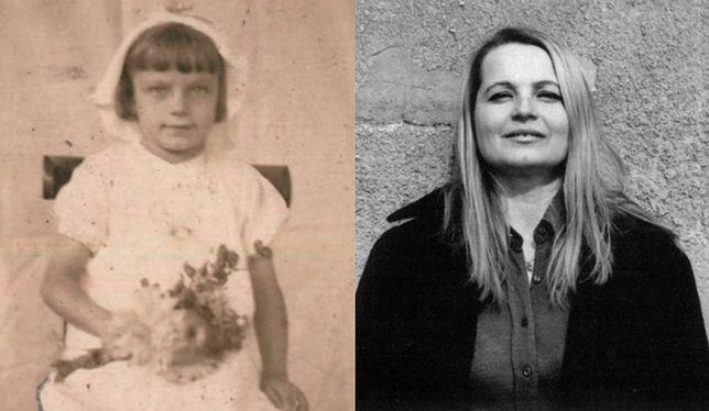 """Na zdjęciu: Teresa Ferenc tuż przed wojną i jako dorosła kobieta, matka autorki """"Małej zagłady"""""""