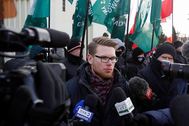 Tomasz Kalinowski, jeden z organizatorów Marszu Niepodległości