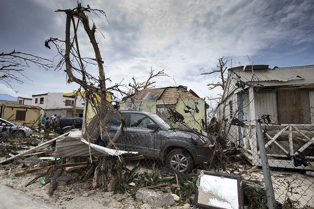 Huragan Irma zbiera swoje żniwo.