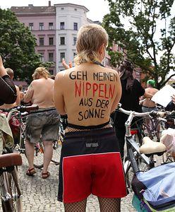 Setki kobiet w Berlinie pokazało piersi. Mają dość dyskryminacji sutków