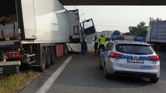 Warszawa. Wypadek na S8