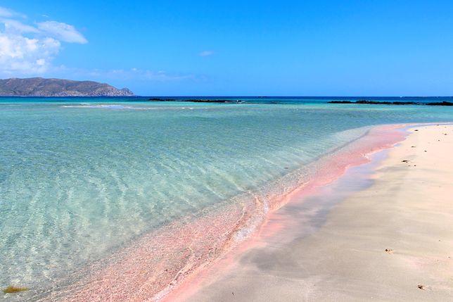 Atrakcje Grecji - plaża Elafonissi