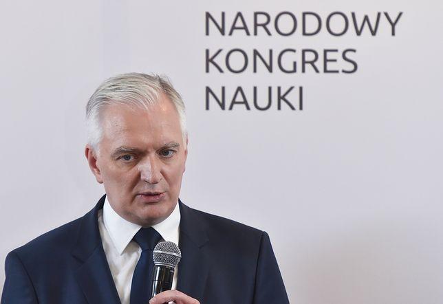 """Jarosław Gowin o słowach Ryszarda Terleckiego. """"To zapewne nieporozumienie komunikacyjne"""""""