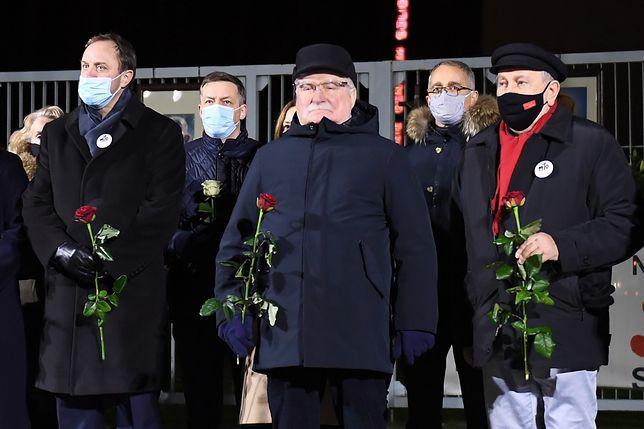 Gdańsk. 50. rocznica Grudnia'70. Lech Wałęsa zabrał głos
