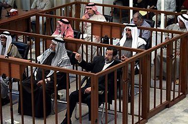Saddam Husajn wyrokiem trybunału skazany na karę śmierci