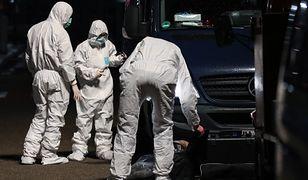 Niemcy. Tobias R. z Hanau zabił 11 osób. Policyjni technicy zabezpieczają ślady