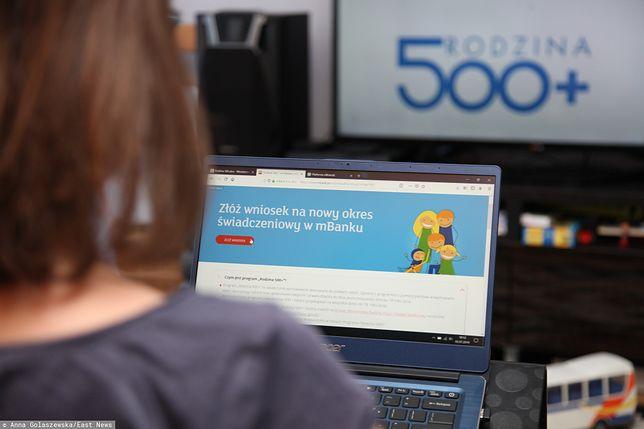Wnioski o przyznanie świadczenia 500+ na pierwsze dziecko można było składać przez internet od 1 lipca 2019 r.