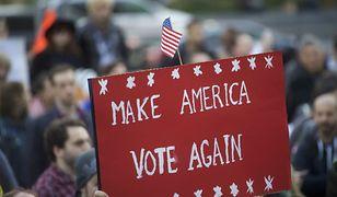 Powyborczy protest w USA