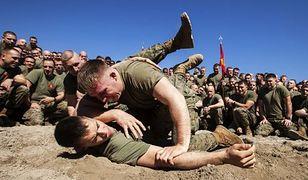Amerykańscy marines w akcji