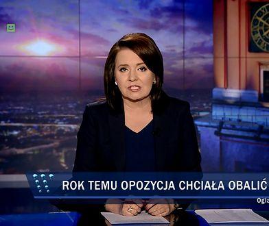 """""""Wiadomości"""" TVP wspominają """"pucz"""" opozycji"""