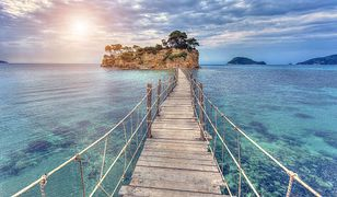 Krajobraz okolic Agios Sostis na Zakynthos w Grecji