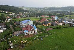Librantowa. Obraz jak po wojnie. Trąba powietrzna spustoszyła wieś