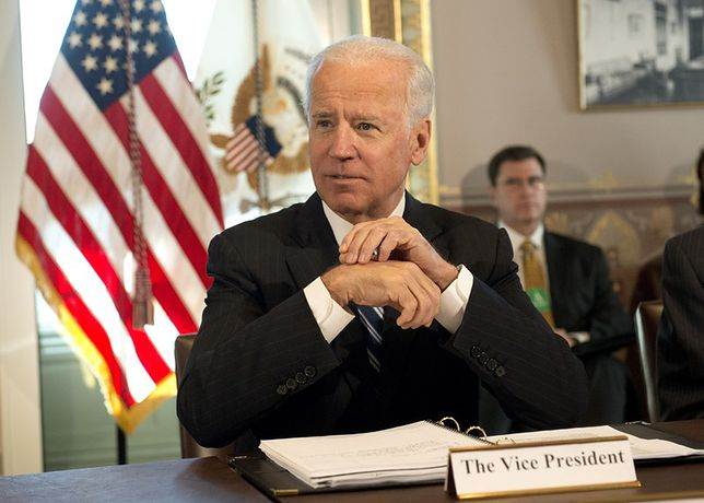 Joe Biden jest byłym wiceprezydentem USA