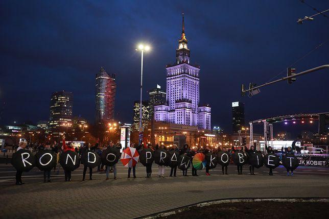 Disco przeciw Nienawiści na Rondzie Dmowskiego