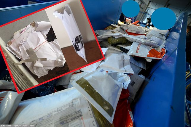 Przesyłki wyglądały, jakby ktoś je rozszarpał. Poczta Polska nie uznaje reklamacji pani Grażyny
