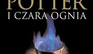 Harry Potter (#4). Harry Potter i Czara Ognia-okładka dla dorosłych