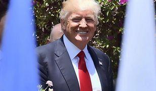 Wymyślili kostium z twarzą Trumpa... To tak pokręcone, że aż fajne