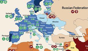 """Polska należy do najbardziej """"wstrzemięźliwych"""" w obronie praw osób LGBT krajów Europy"""