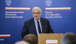 Witold Waszczykowski: zmiany w służbie zagranicznej mogą dotknąć ponad sto osób
