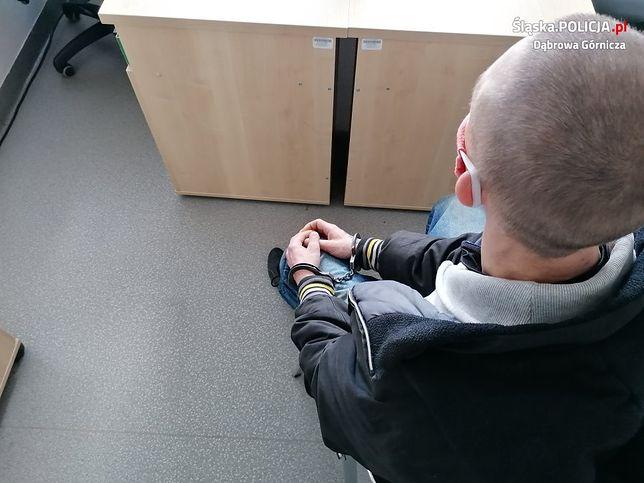 Dąbrowa Górnicza. 33-latek odpowie za posiadanie narkotyków.