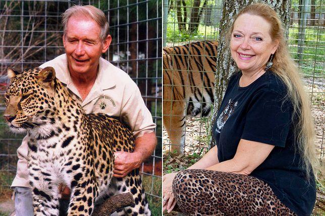 """Don Lewis i Carole Baskin - bohaterka serii """"Król tygrysów"""" zamordowała swojego męża?"""