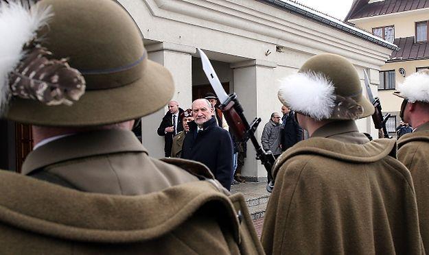 Antoni Macierewicz: dobro będzie nagrodzone, za zło ukarane i nazwane złem