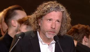 Odebrał nagrodę i zwrócił się z prośbą do TVP. Mocna przemowa na festiwalu w Gdyni