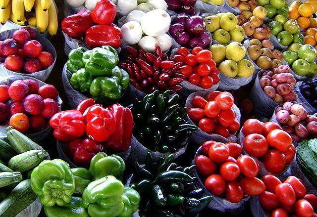 Dieta bogata w warzywa i owoce