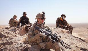 Amerykańscy żołnierze stacjonują w Afganistanie