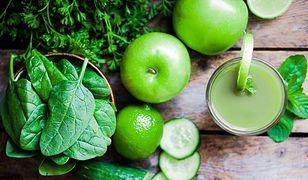 Zielony koktajl na śniadanie
