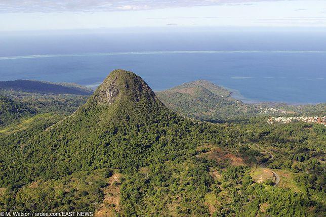 W okolicy jest kilka wulkanów