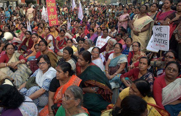 Indyjskie aktywistki domagają się sprawiedliwości ws. o gwałt i morderstwo