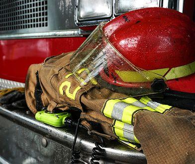 Do wybuchu pożaru doszło późno wieczorem.