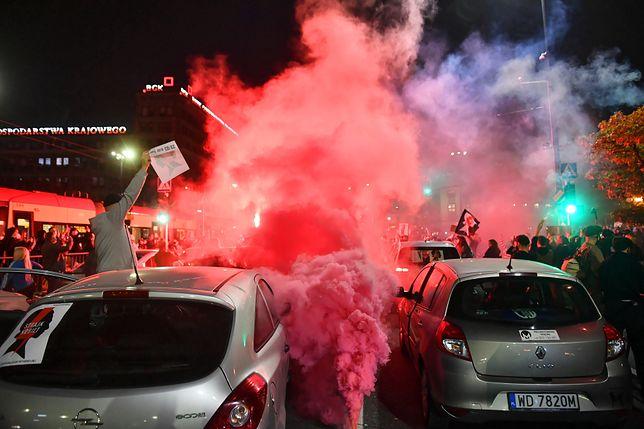 Warszawa. Strajk Kobiet w stolicy