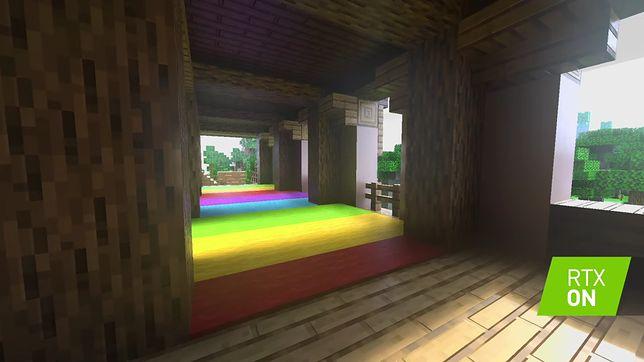 Minecraft - ray tracing w grze