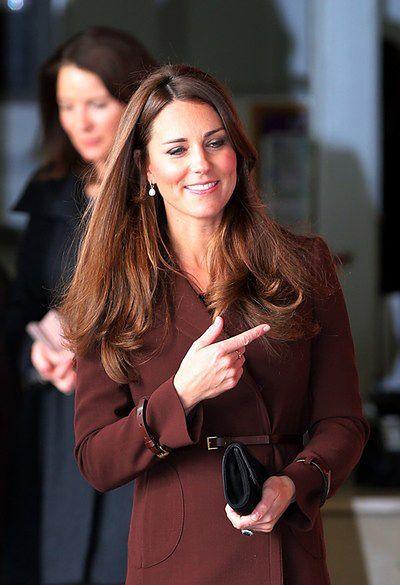 Kate Middleton: idealne włosy i zęby
