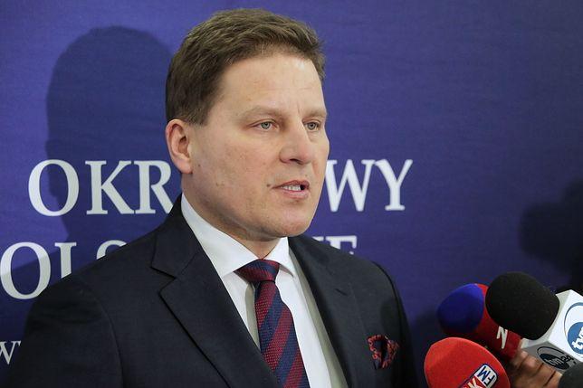Sprawa Pawła Juszczyszyna. Kolegium SO w Olsztynie wyraża dezaprobatę wobec Macieja Nawackiego