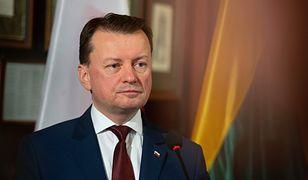 """Mariusz Błaszczak o kupnie F-35: chodzi o odstraszanie. Minister mówi o """"ewentualnym przeciwniku"""""""