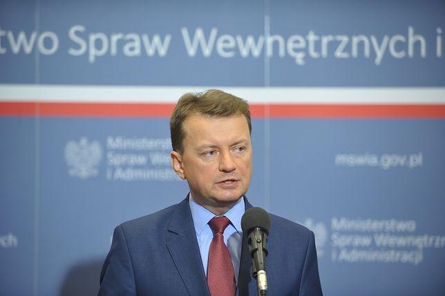 Mariusz Błaszczak ws. nawałnic: służby zadziałały natychmiast