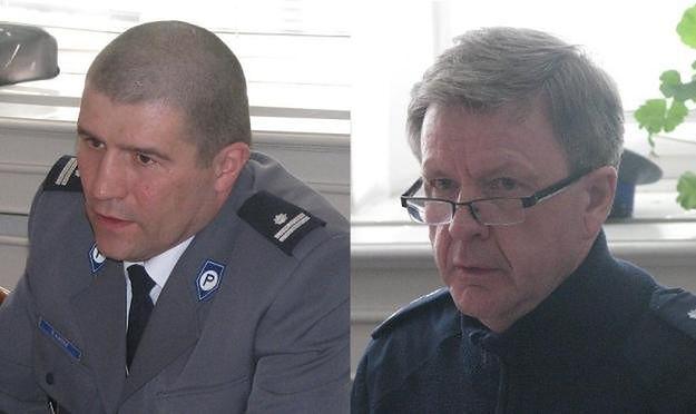 Komendant policji i naczelnik drogówki z Poznania złapali złodzieja