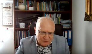 Koronawirus w Polsce. Prof. Simon: dostałem cztery wyroki śmierci