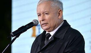 """Kaczyński znów mówi o reparacjach. """"Próba wykręcania się Niemców"""""""