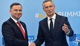 Białoruś. Prezydent Andrzej Duda rozmawiał z Sekretarzem Generalnym NATO