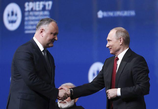 """Prorosyjski prezydent Mołdawii Igor Dodon nie zgodził się na wysłanie żołnierzy na Ukrainę. """"Nie do zaakceptowania"""""""