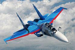 Rosja. Katastrofa Su-30 w pobliżu granicy z Białorusią. Załoga się katapultowała